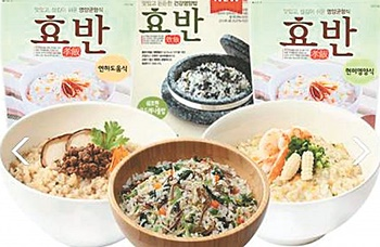 (주)복지유니온의 고령친화식품 '효반'